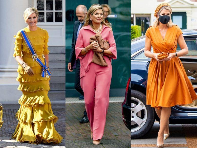 Máxima de Holanda apuesta por la moda más colorida (y divertida)