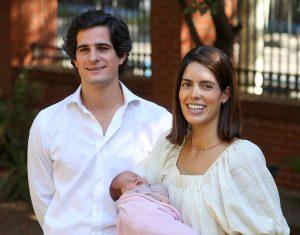 Los duques de Huéscar: sin poder bautizar a su hija, pero con otro gran motivo para celebrar