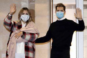David Bisbal y Rosanna Zanetti posan por primera vez con su hija Bianca