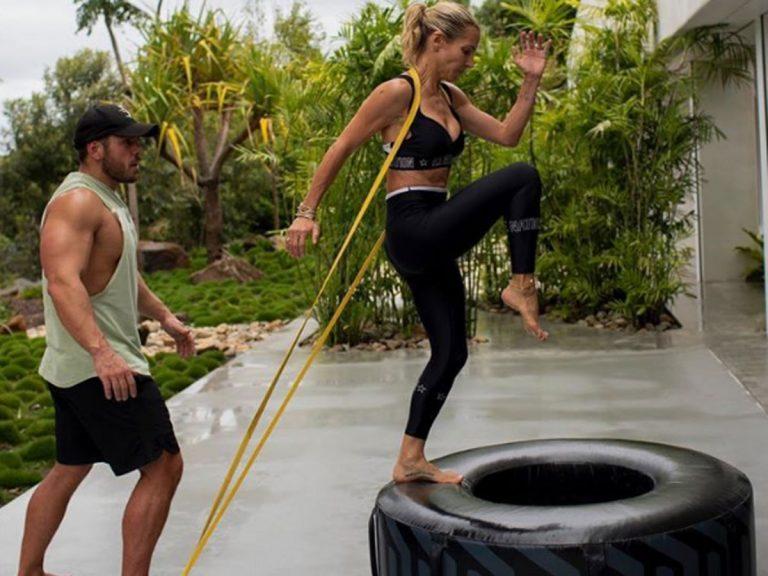 Elsa Pataky muestra sus ejercicios más espartanos para tener un cuerpo 10