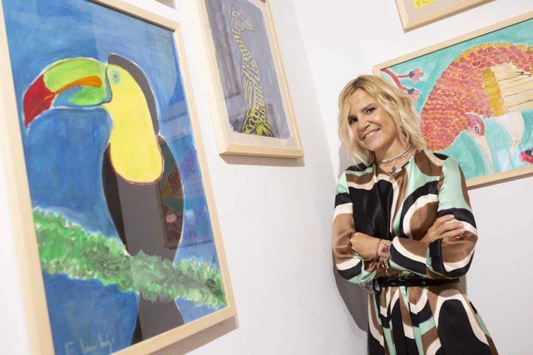 Eugenia Martínez de Irujo arrasa con sus pinturas: así han sido las ventas de su exposición benéfica