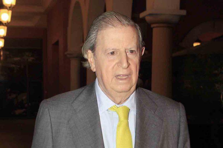 Muere Fernando Falcó, tío de Tamara Falcó, siete meses después de fallecer el marqués de Griñón