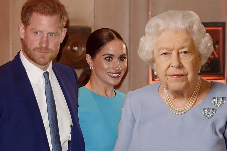 Harry y Meghan Markle negocian con la reina Isabel II una prórroga de su salida de la Familia Real