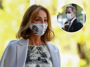 Isabel Preysler repite vestido de 1.500 euros en su cita con el rey Felipe VI