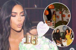 Kim Kardashian celebra por todo lo alto su 40 cumpleaños