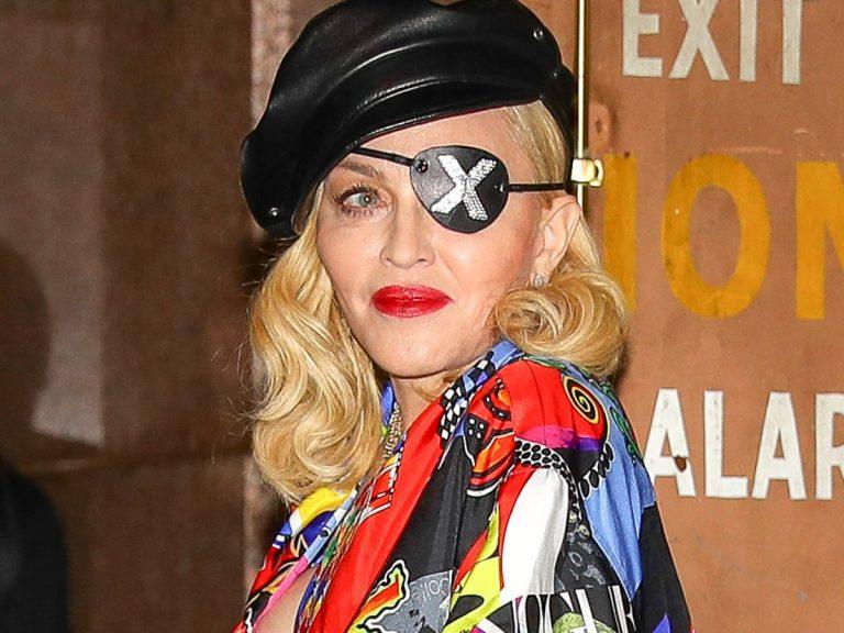 Más juvenil que nunca: Así es el nuevo look de Madonna a los 62 años