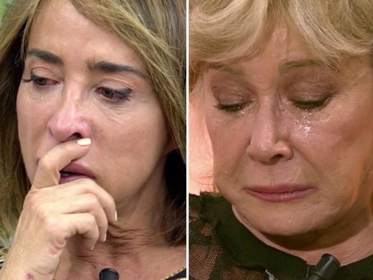María Patiño se rompe tras el cabreo de Mila Ximénez: «Siempre defraudo»