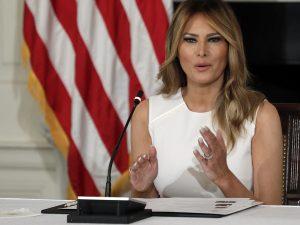 La crítica velada de Melania Trump a su marido, Donald Trump, por su nefasta gestión del coronavirus