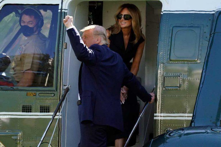El regreso de la doble de Melania Trump causa furor: ¿Es ella o no?