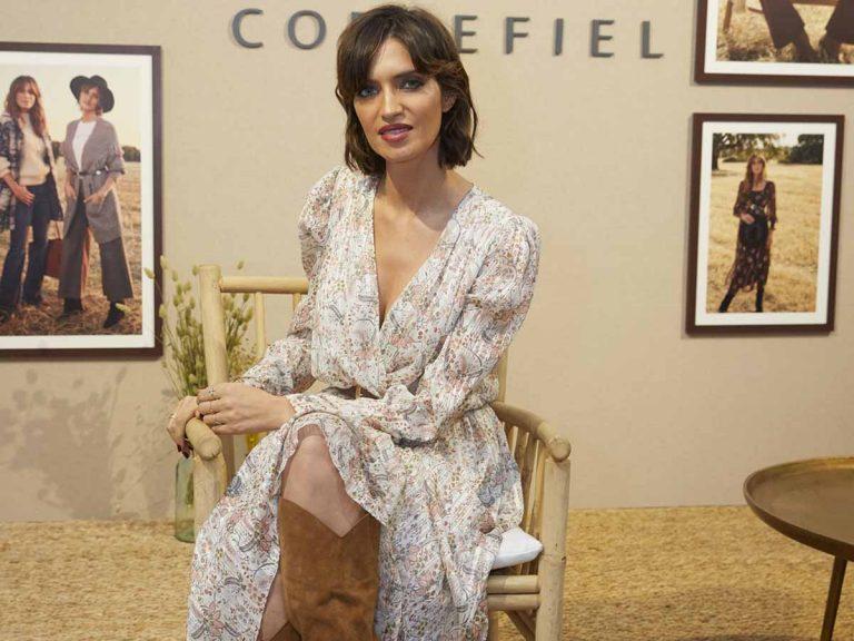 Sara Carbonero lleva el vestido más bonito del otoño (y es de su colección para Cortefiel)