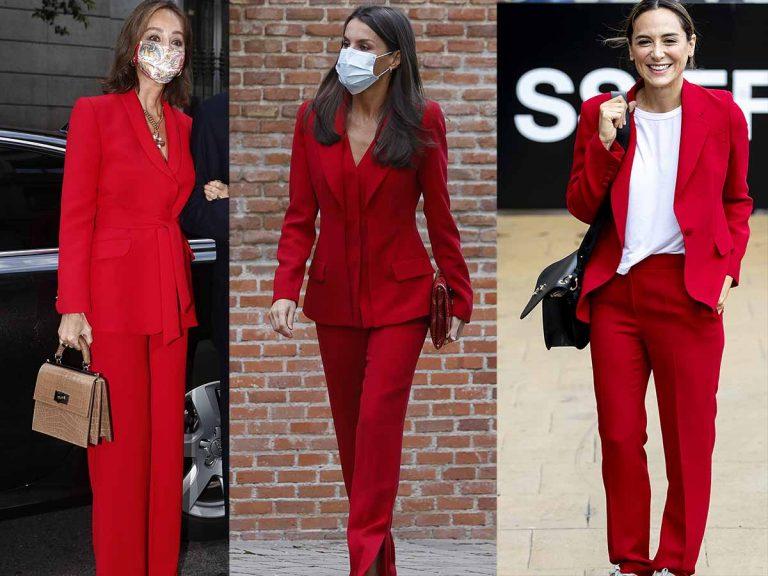 Isabel Preysler, Letizia o Tamara Falcó ¿quién lleva mejor el traje rojo?