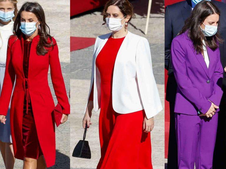 De Letizia a Irene Montero, las mejor y peor vestidas de la Fiesta Nacional (y la sorpresa de Nadia Calviño)