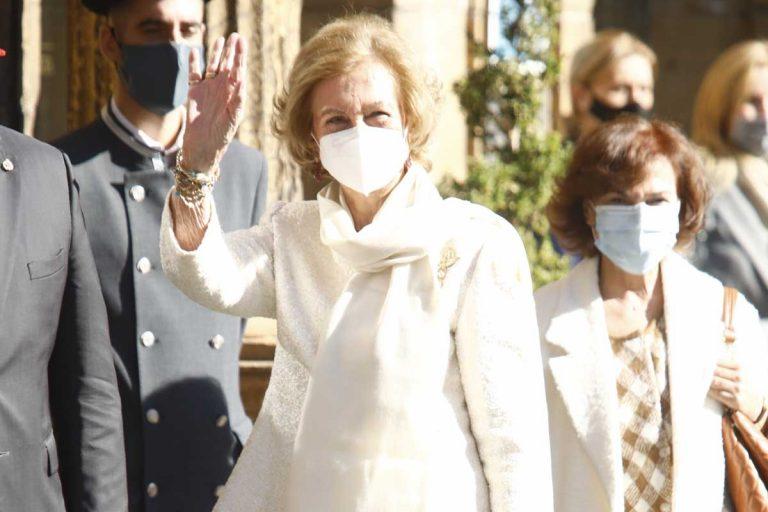 La Reina Sofía llega a Oviedo para encontrarse (al fin) con la Familia Real