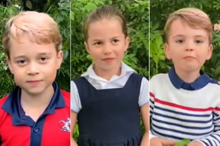 George, Charlotte y Louis de Cambridge hablan en público ¡sus voces son adorables!