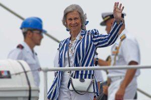 La Reina Sofía abre Marivent ante la inminente llegada de los Reyes y sus hijas