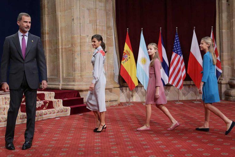 La hoja de ruta completa de los Reyes y sus hijas en Asturias