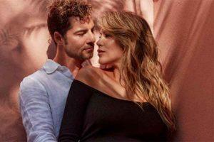 La bonita foto de David Bisbal y Rosanna Zanetti a falta de unos días de dar a luz