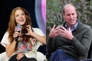 La curiosa conversación del príncipe Guillermo con Shakira que ha causado furor