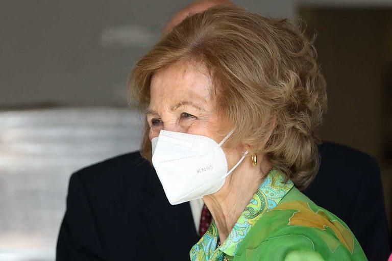 La reina Sofía se va de tapas por Murcia tras un acto solidario
