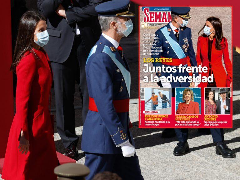 En SEMANA, los Reyes Felipe y Letizia, juntos frente a la adversidad