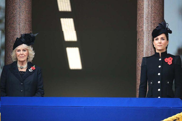 La Familia Real británica vive un Día del Armisticio totalmente insólito