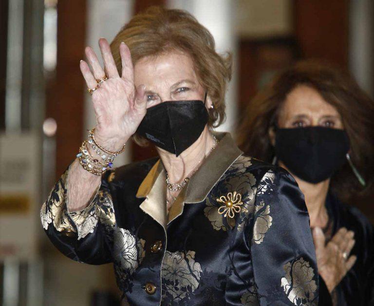 La Reina Sofía, noche de concierto tras celebrar su 82 cumpleaños