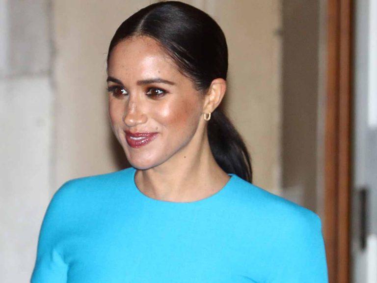 El día que Meghan Markle copió a la reina Sofía y llevó su mejor vestido