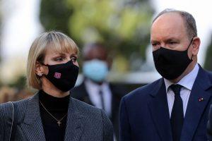 Charlène y Alberto de Mónaco recuerdan a las víctimas del atentado de Niza