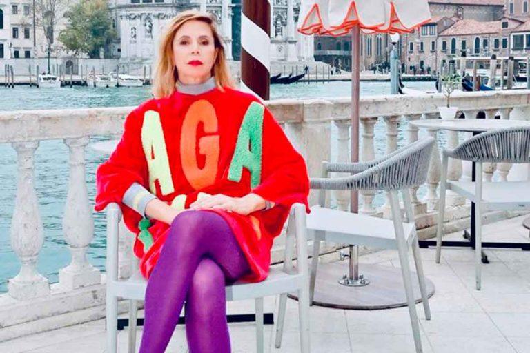 Todas las fotos de la exclusiva escapada de Ágatha Ruiz de la Prada a Venecia