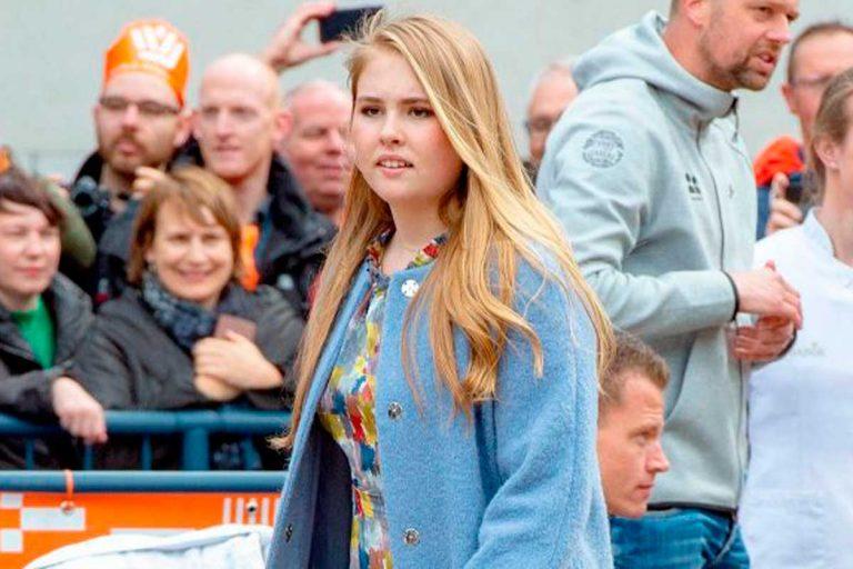 Sentenciado a prisión el hombre que amenazó a la princesa Amalia de Holanda