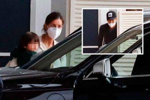 Ana Boyer y Fernando Verdasco vuelven a Madrid tras la operación del tenista