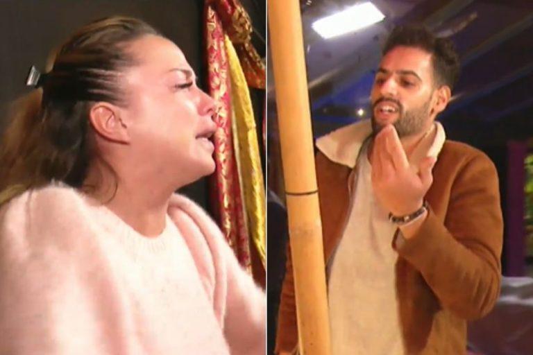 El tenso rifirrafe entre Asraf Beno y Samira en 'La casa fuerte': «Eres un ridículo, te sientes inferior»