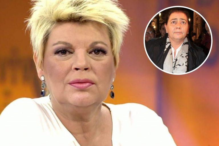 Terelu Campos pide disculpas a María del Monte: «No sabía que había muerto su hermano»