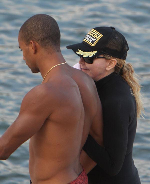 Madonna y Brahim Zaibat,