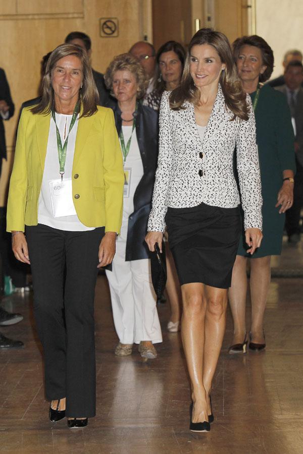 Princesa Letizia y Ana Mato