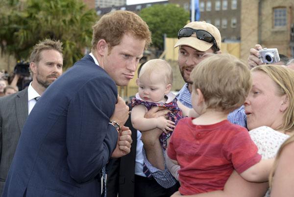 Harry de Inglaterra en Sídney