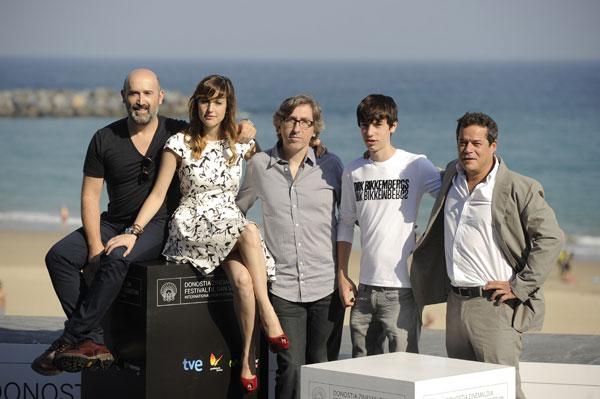 David Trueba, Jorge Sanz, Javier Cámara, Natalia de Molina, Francesc Colomer