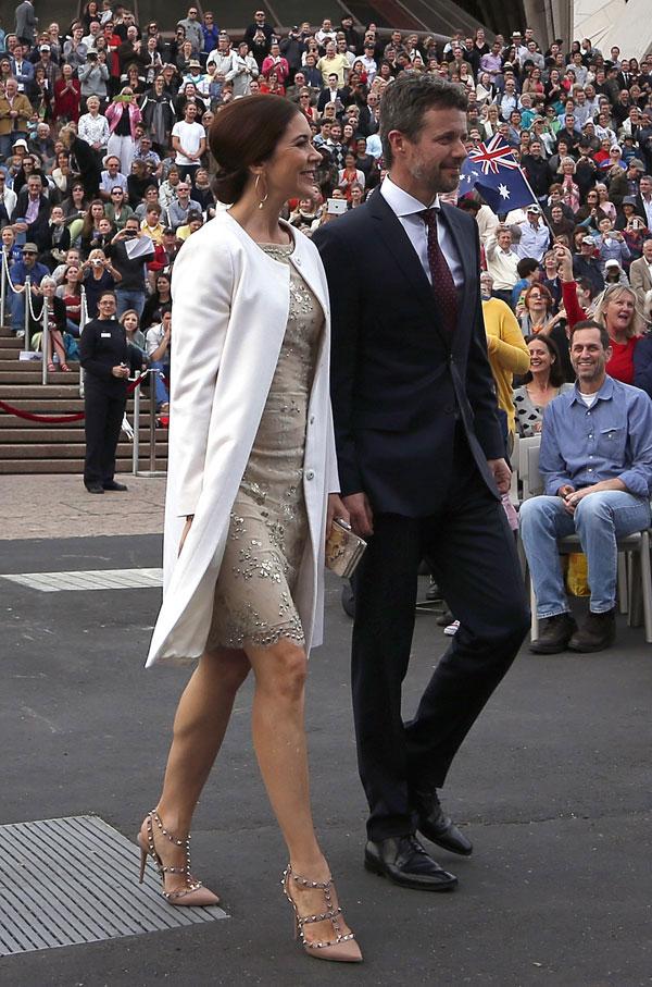 Federico y Mary de Dinamarca en Sídney