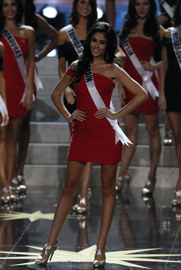 Gabriela Isler y Olivia Culpo Miss Universo 2012