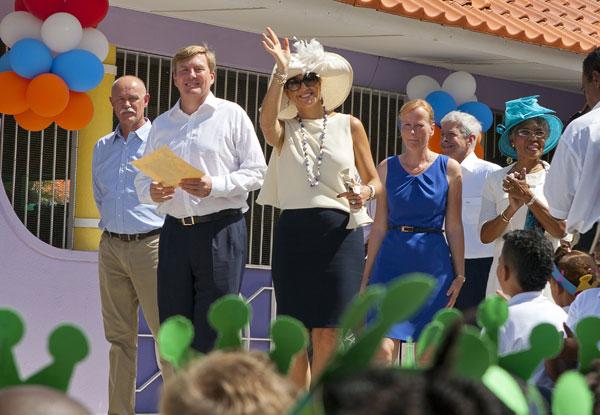 Guillermo y Máxima en Curaçao