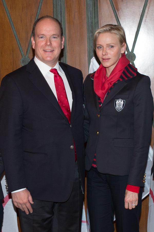 Alberto y Charlene de Mónaco