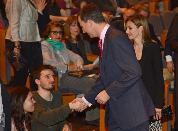 Príncipes de Asturias en Barcelona