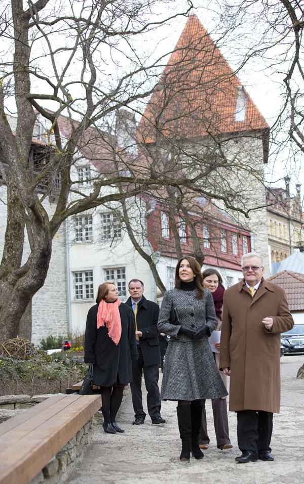 Mary de Dinamarca en Tallin, Estonia