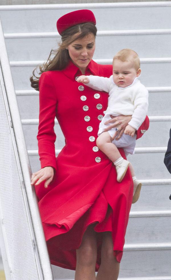 Kate y principe George