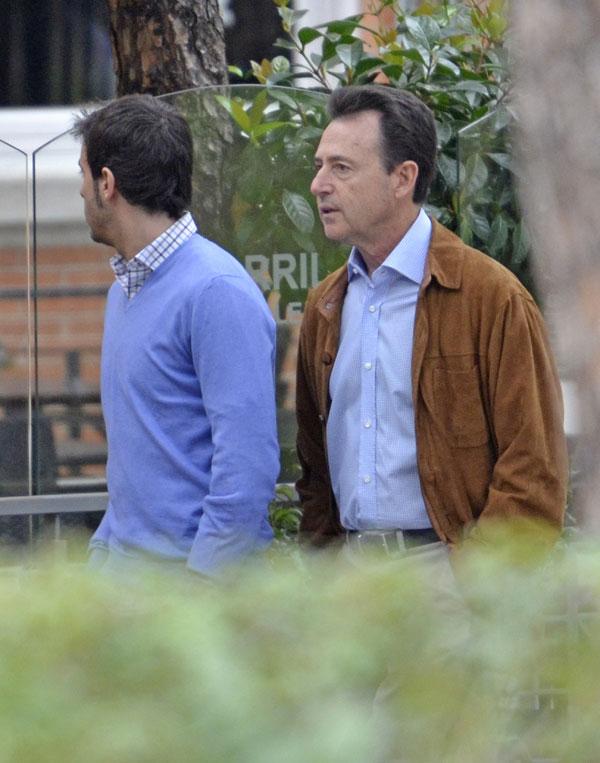 Matías Prats y su hijo, Matías Jr.
