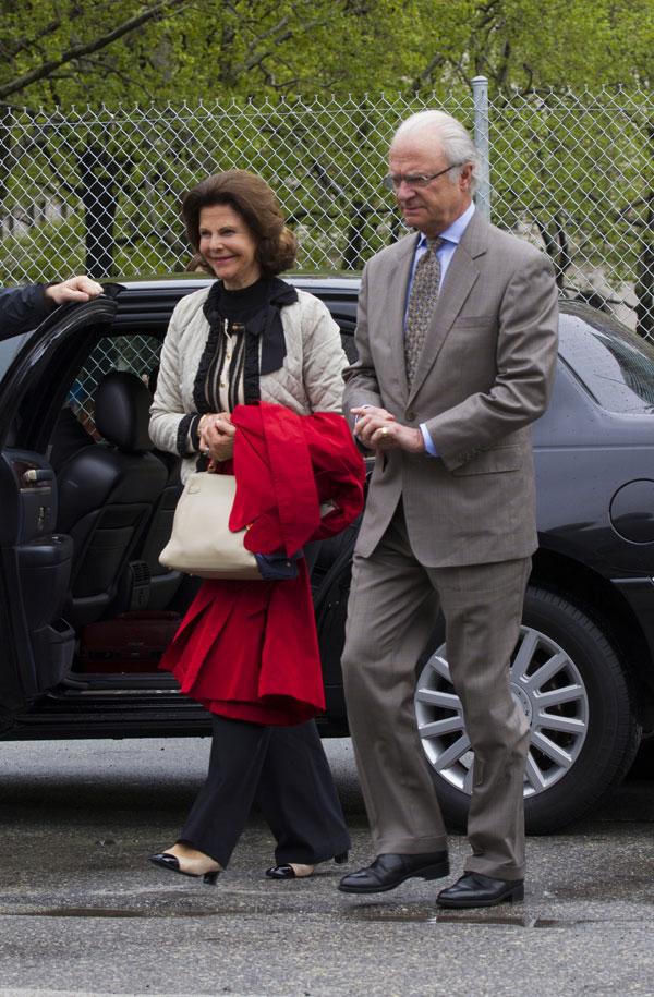 Carlos Gustavo y Silvia de Suecia