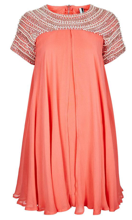Vestidos para boda color coral
