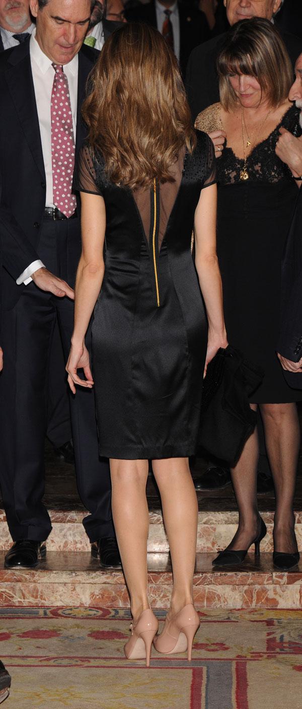 letizia estreno vestido para el premio francisco cerecedo