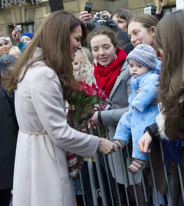 La duquesa de Cambridge en la ciudad que da nombre a su título