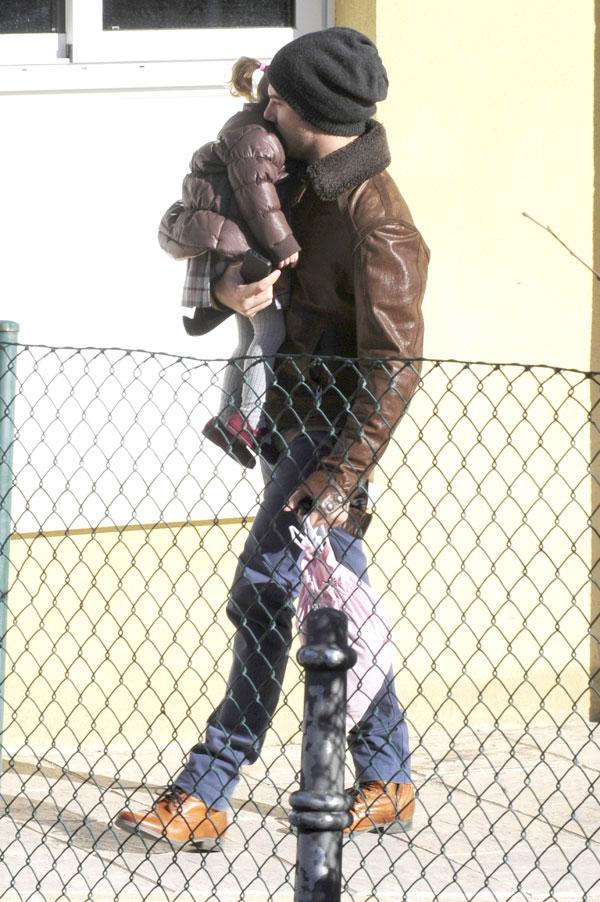 David Bisbal con su hija Ella